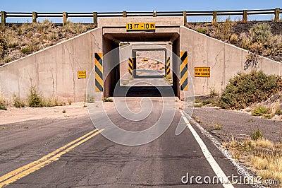One Lane Tunnel