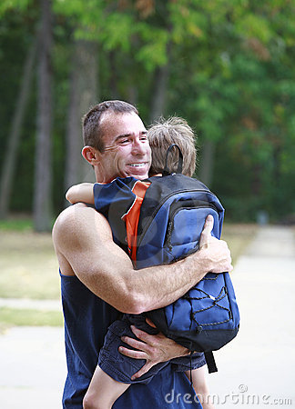 Free One Last Hug Royalty Free Stock Images - 3058589