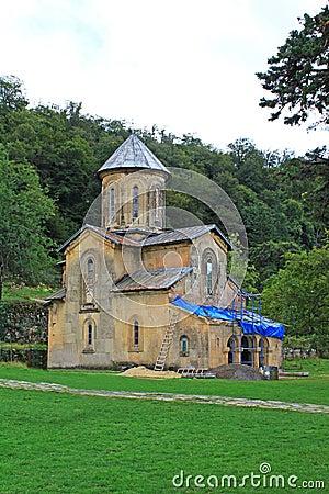 One little church of monastery Gelati