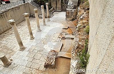 Ancient Main Road in Jerusalem