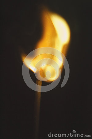 Free One Match Fire Stock Photo - 62985310