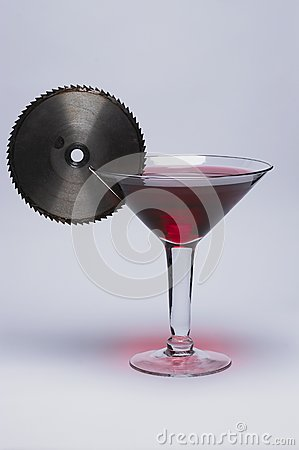 One mean martini