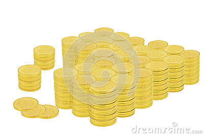 One Million Dollars in Gold Coins