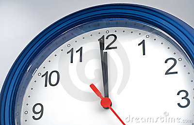 One minute to deadline