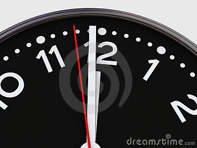 One minute to twelve