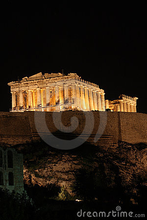 Free One Night At Parthenon Royalty Free Stock Images - 3614949