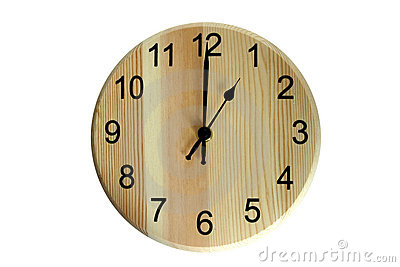 One O'clock Royalty Free Stock Image - Image: 2253236