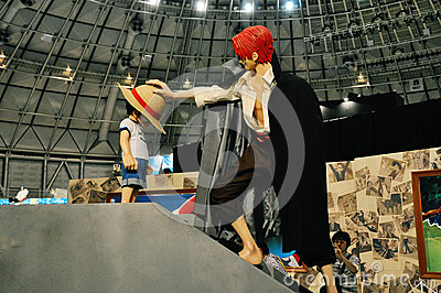 One Piece Grand Arena Tour 2012 (Fukui) Editorial Stock Image