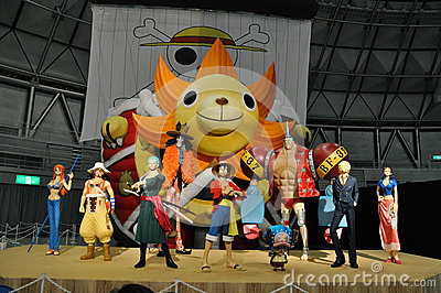 One Piece Grand Arena Tour 2012 (Fukui) Editorial Image