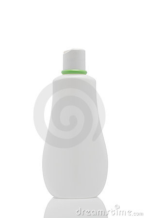 One plastic bottle with spray