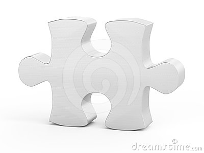 One puzzle piece