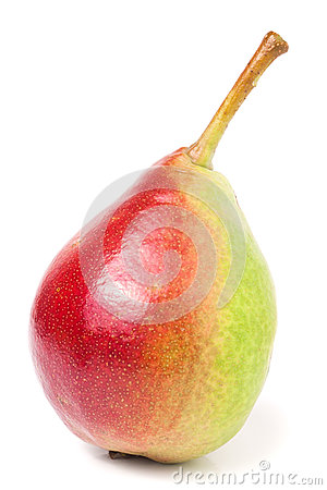 Free One Red-yellow Pear  On White Background Stock Image - 74880671