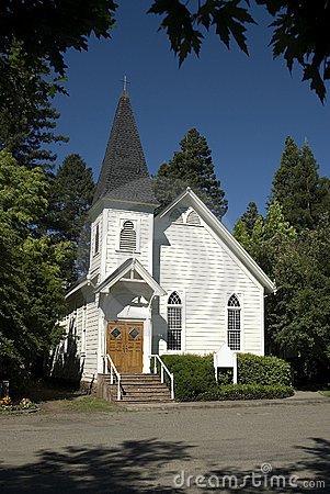 Free One Room Country Church Stock Images - 1707024