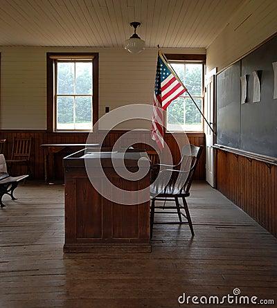 Free One Room School House Interior Stock Photos - 1041163