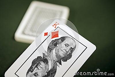 One s trump card.