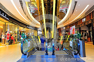 The one shopping mall, hong kong Editorial Stock Photo