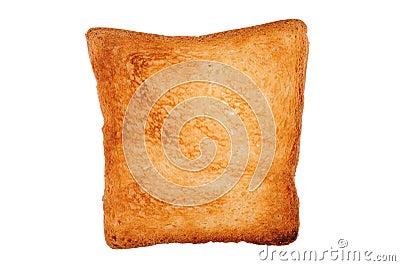 One slice of toast bread