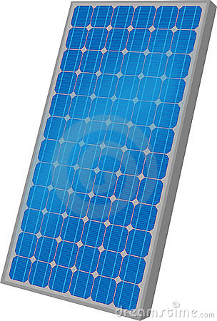 One solar panel