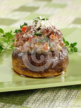 One Stuffed Mushroom