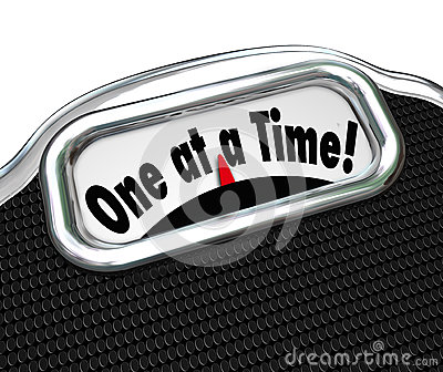 One at a Time Words Scale Overweight Fat Obesity Scolding