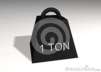 One ton