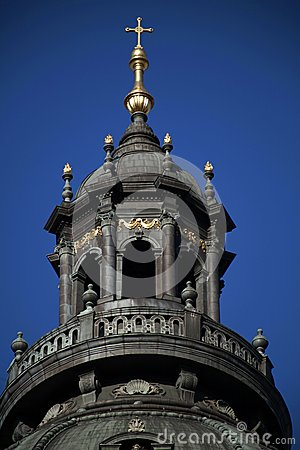 Tower of St. Stephen Basilica, Budapest, Hungary