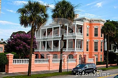 Charleston style homes