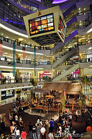 One Utama Shopping Mall, Malaysia Editorial Image
