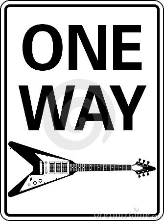 One Way Guitar