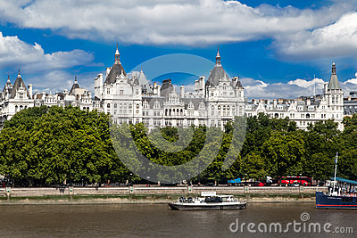 One Whitehall Place London Editorial Stock Photo