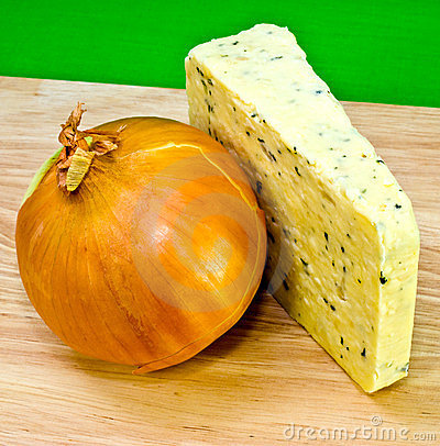 Onion Cheese and Whole Onion