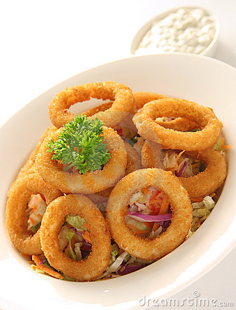 Free Onion Rings Royalty Free Stock Photography - 2869027