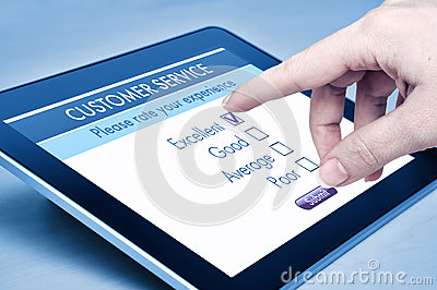 υπηρεσία online πελατών