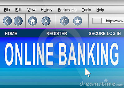 Online banking.