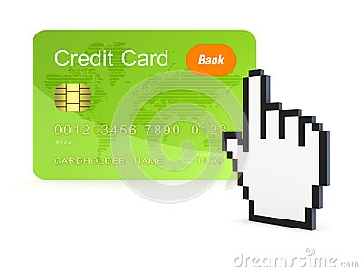 Online betalingsconcept.