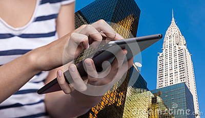 Online booking stock photo image 56418328 for Tablet hotel booking
