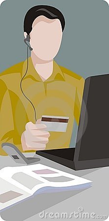 Online Buyer Illustration