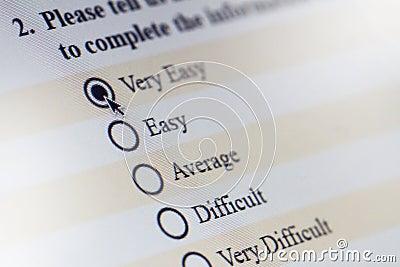 Online Computer Survey