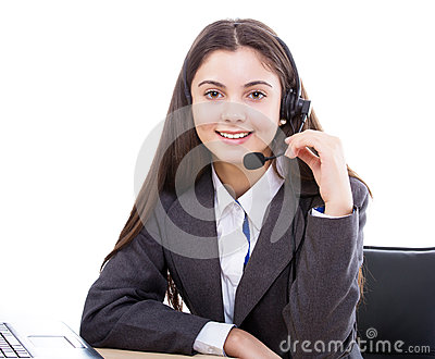 Online customer service representative