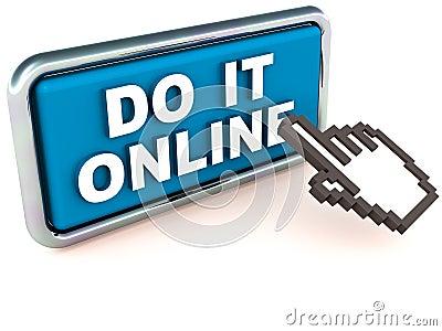 Online enabled service