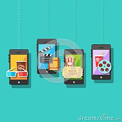 Online Entertainment Concept