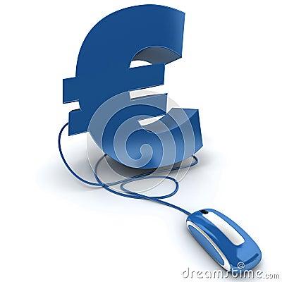 Online Euro blue
