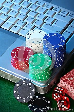Free Online Gambling Royalty Free Stock Photo - 5304305