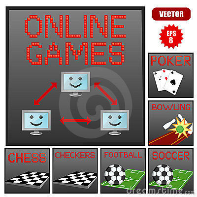 Online game banners