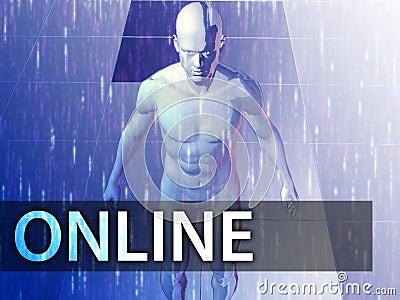Online  illustration