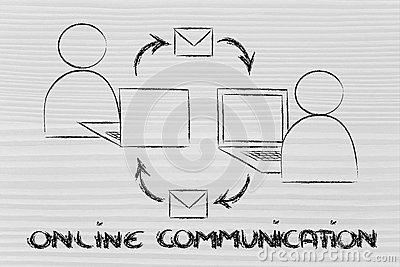 Online internet based communication