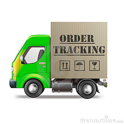 Online order tracking