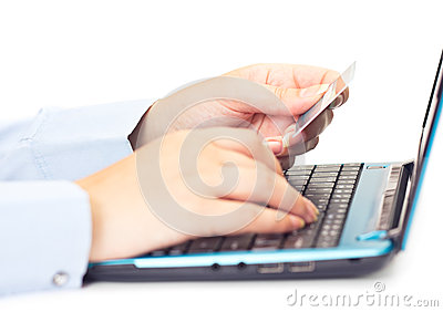 Online payment by credit card