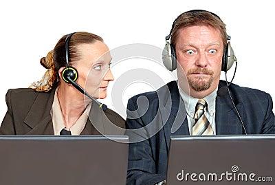 Online sales support team