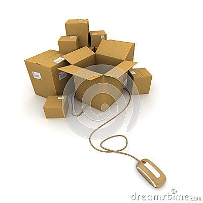 Online shipment
